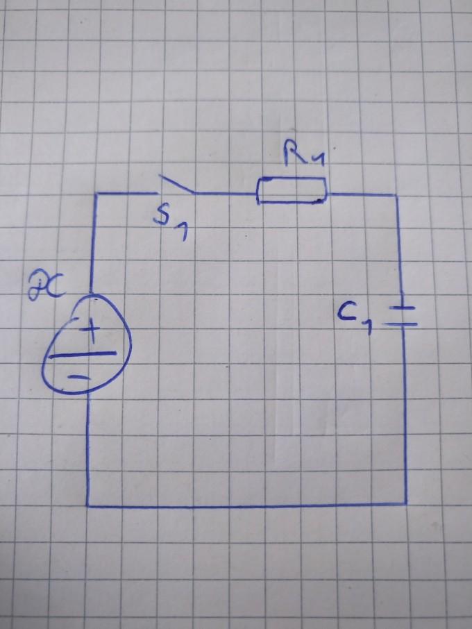 ladung eines kondensators mit vorladung berechnen nanolounge. Black Bedroom Furniture Sets. Home Design Ideas