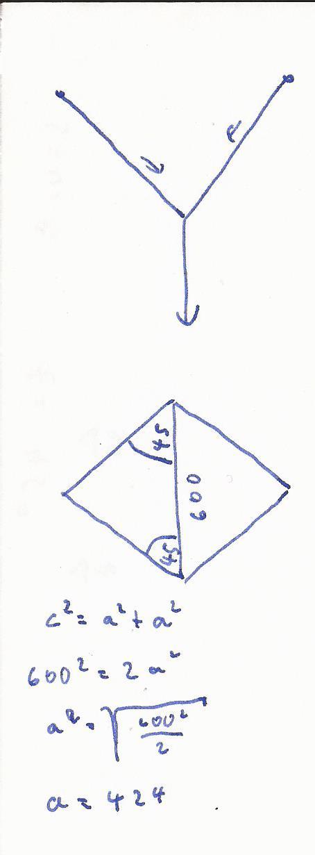 berechnen sie die kraft mit der das linke seil und die. Black Bedroom Furniture Sets. Home Design Ideas