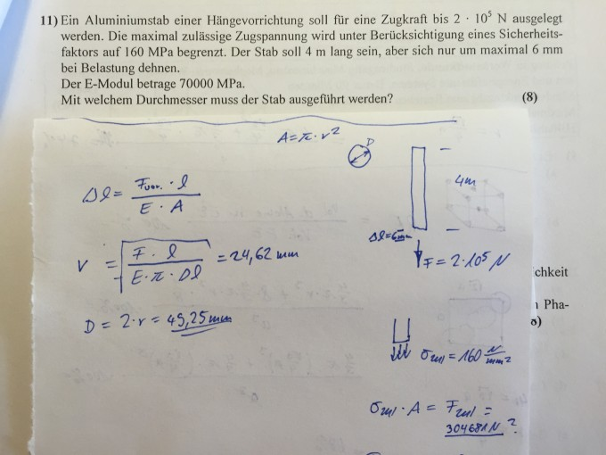 Berechnung Stabdurchmesser Flea Formel Nanolounge